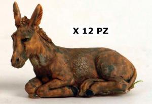 Asinello 12 Pezzi 10254 Presepe - Personaggi E Animali Natale Regalo 102