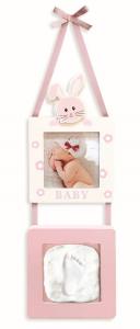 Babyimpronta Portafoto Con Impronta Appendere Rosa Babympronta Cornice In Plexig 875