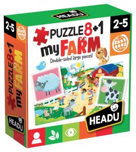 HEADU Puzzle 8+1 Farm 438