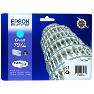 EPSON Tanica inchiostro ciano DURABrite Ultra, serie 79XL/ Torre di Pisa