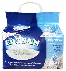 Catsan Lett.hygene Plus 10 Lt - Prodotto Per animali