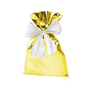 Plastica Sacchetti 35x50 Fondo Pieno Oro Confezione 50 U814arr Natale