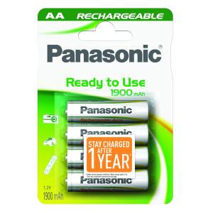 PANASONIC batteria stilo ricaricabile bls 4 pezzi c307016 1900 mha