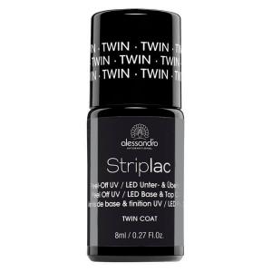 ALESSANDRO INTERNATIONAL Striplac smalto per unghie twin coat base e top 8 ml