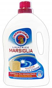 CHANTE CLAIR Lavatrice Liquido 23 Misurini Marsiglia Detergenti Casa