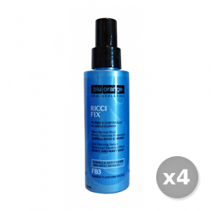 Set 4 BLU ORANGE Ravviva Ricci Siero 100 ml Prodotti Per capelli