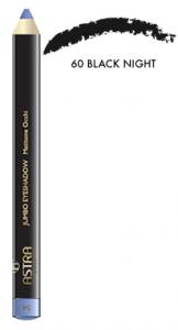 ASTRA Jumbo Eyeshadow 60 Black Night Matita Occhi Cosmetici