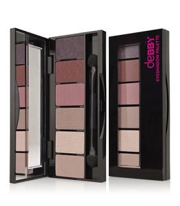 DEBBY On The Go Palette 02 Nude Rose Rome Ombretto Make-up E Cosmetica Occhi