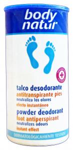 BODY NATURAL Talco Antitraspirante 75 gr - Prodotti Per piedi