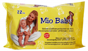 Mio Baby Salv.baby Aloe X 72 Pezzi - Linea Bimbo