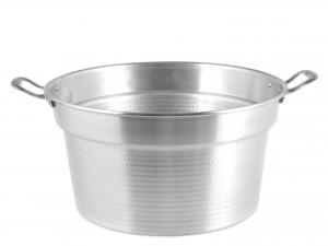 HOME Caldaia Alluminio Pesante Spazzolata Cm 40 pentola da cucina