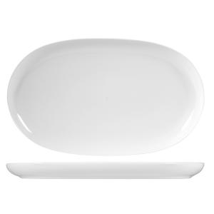 OFFICINE STANDARD Piatto porcellana oslo ovale cm33 Arredo tavola