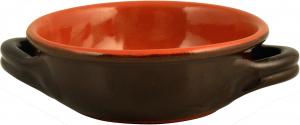 VULCANIA Tegame due manici ceramica vulcania cm 12 pentola da cucina