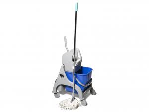TTS Carrello 25 attrezzi per pulizie articolo per la casa