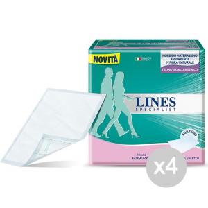 Set 4 LINES Specialist Traverse Medie 60/90 Adulti Igiene E Cura Del Bambino