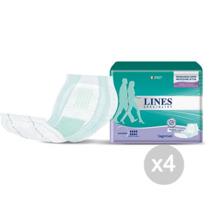 Set 4 LINES Specialist Sagomati 14 Adulti Igiene E Cura Del Bambino