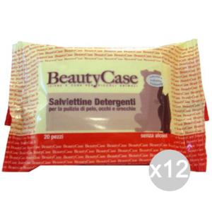 Set 12 Beauty Case Salviette Detergenti Animalix20 Articolo Per Cani