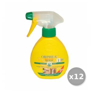 Set 12 ORPHEA Tarmicida No-Gas TAPPETI-CAPI Pesanti 150 ml Articoli Per insetti
