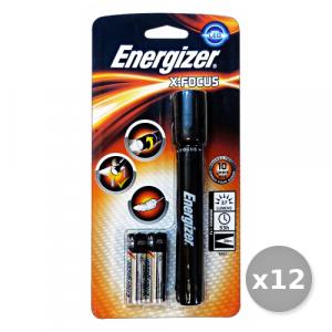Set 12 ENERGIZER Torcia LED X-FOCUS Elettricità