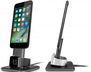 TWELVE SOUTH HiRise Duet Dual Supporto di ricarica per iPhone e Apple Watch