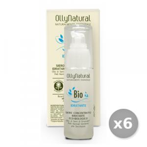 Set 6 OLLYNATURAL Viso Idratante Siero Pelli normali 50 ml Cura del viso