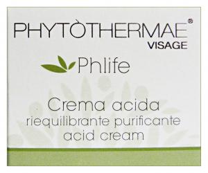 PHYTOTHERMAE Crema ACIDA Purificante 50 ml 60065X Cura del viso