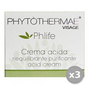 Set 3 PHYTOTHERMAE Crema ACIDA Purificante 50 ml 60065X Cura del viso