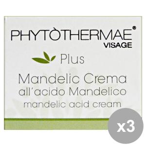 Set 3 PHYTOTHERMAE Crema ACIDO MANDELICO 50 ml 60097X Cura del viso