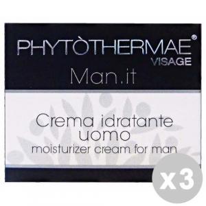 PHYTOTHERMAE Set 3 PHYTOTHERMAE Uomo Crema Idratante - Cura del viso