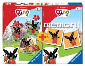 BING  PUZZLE più MEMORY_ 20518 RAVENSBURGER