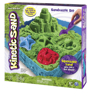 KINETIC SAND KIT COMPLETO DI GIOCO 6024397 SPIN MASTER new