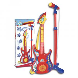 Chitarra rock con microfono da palcoscenico 247020 BONTEMPI NEW