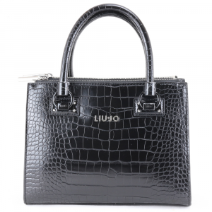 Hand and shoulder bag Liu Jo MANHATTAN AA0232 E0084 NERO