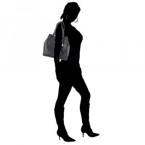 Hand and shoulder bag Liu Jo FLUIDA AA0085 E0221 NERO