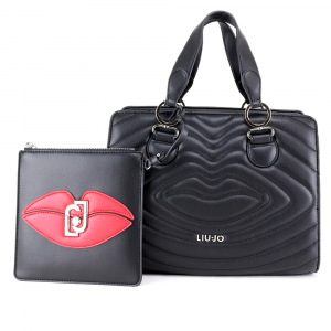 Hand and shoulder bag Liu Jo CREATIVA AA0069 E0010 NERO