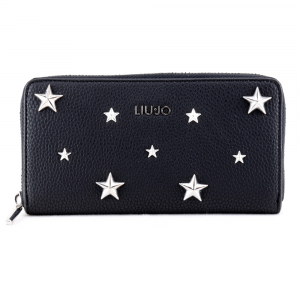 Woman wallet Liu Jo PREZIOSA STAR AA0214 E0058 NERO