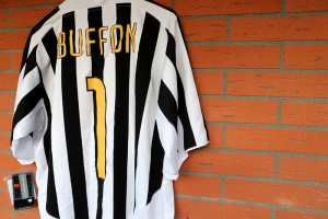 2003-04 Juventus Maglia #1 Buffon XL *Nuova