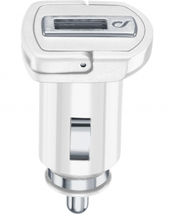 Cellularline USB Adaptive Fast Charger 15W - Samsung Caricabatterie da auto adattivo Fast Charger 15W Bianco