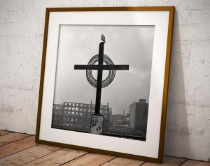 Croce sullo Sprea, Berlino, 1963