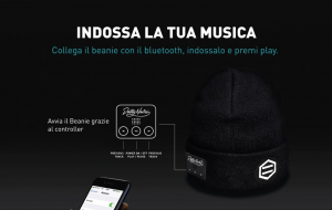 Cappello Dolly Noire Bluetooth Beanie