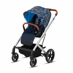 Cybex - 2 in 1 - Balios S - Trust Balios S & Cot S Fashion Collection Gold Blue