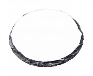 Tavoletta tonda in ceramica per sublimazione cm.9x9x0,8h