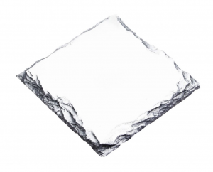 Tavoletta quadrata in ceramica per sublimazione cm.9x9x0,8h