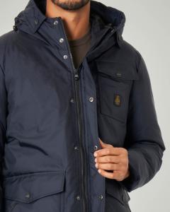 Parka New Force Jacket blu