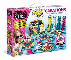 Crazy Chic ,Wow Creation, Clementoni,  7anni+