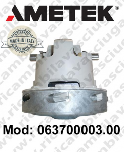 Motore aspirazione 063700003.00 AMETEK ITALIA per lavapavimenti e aspirapolvere