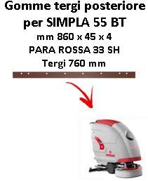 Gomma tergi posteriore per lavapavimenti COMAC SIMPLA 55 BT