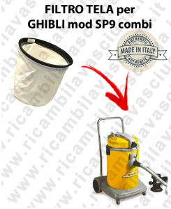 FILTRO TELA PER aspirapolvere GHIBLI modello SP9 COMBI