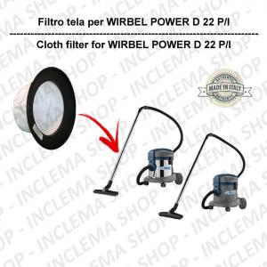 FILTRO TELA PER aspirapolvere WIRBEL modello POWER D 22 P / I