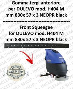H404 M serie 6 GOMMA TERGI lavapavimenti anteriore per DULEVO